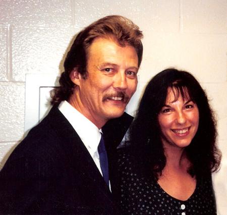 Tony Rice with Kari, 1985
