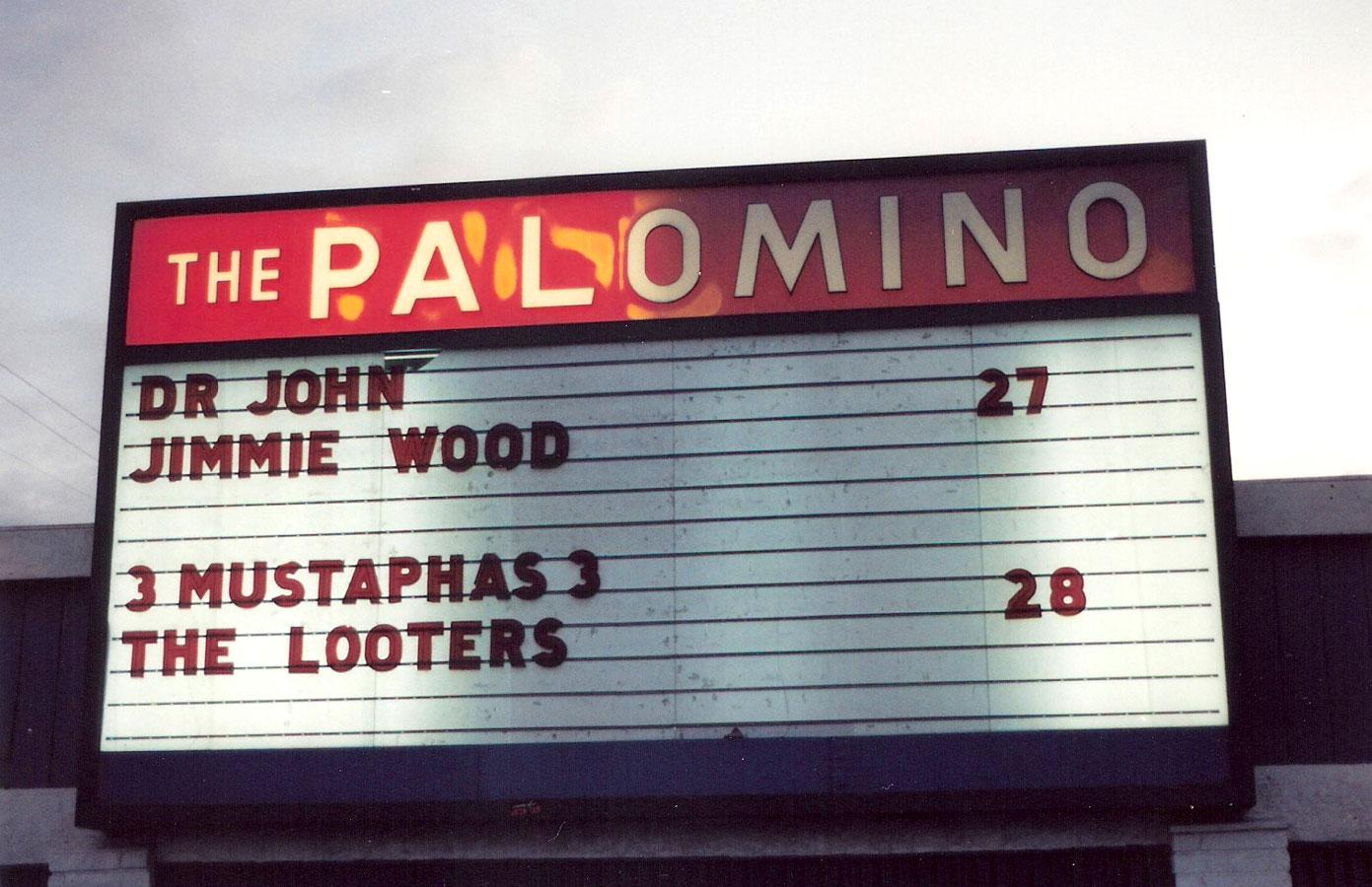 3 Mustaphas 3 at the Palomino