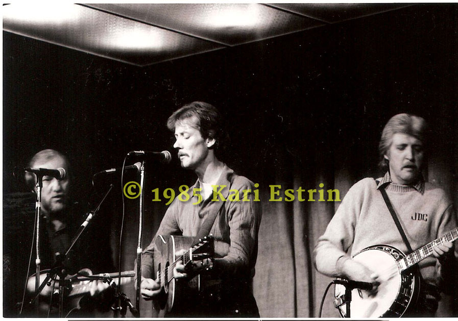 Doyle Lawson, Tony Rice and J. D Crowe rehearsing at The Birchmere - mid-80's